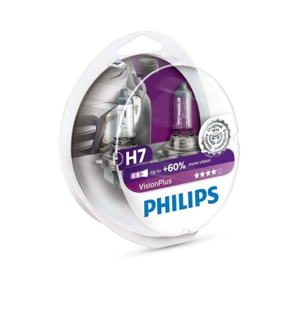 Philips Vision Plus H7 12V 55W duobox