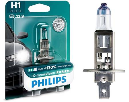 Philips Xtreme Vision +130%  H1 12V 55W