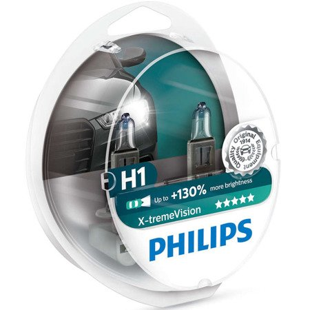 Philips Xtreme Vision +130% H1 12V 55W duobox